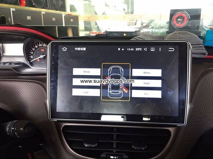 Peugeot 2008 Android Car Radio GPS WIFI navigation