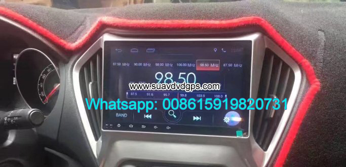MG GT GTS audio Upgrade radio Car android wifi GPS