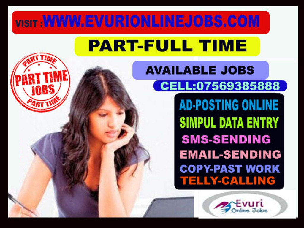 Work from home and earn minimum ten thousand. Jus