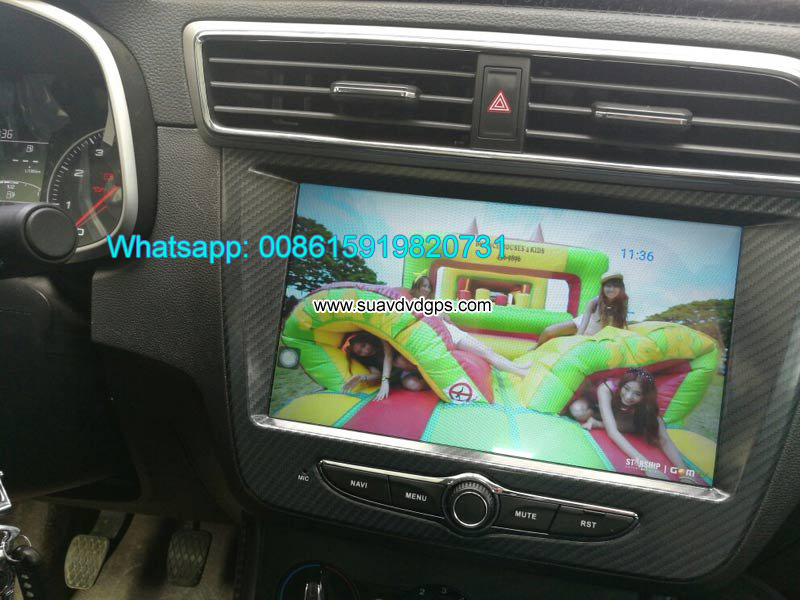 MG ZS Car audio radio update android GPS navigatio
