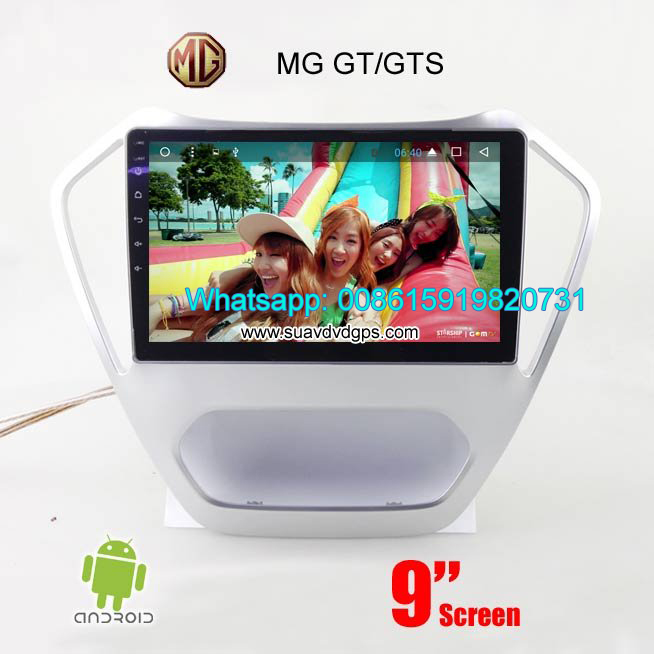 MG GT Car audio radio update android GPS navigatio