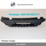 Buick Excelle car mount QI wireless charger quick